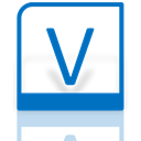 Mirror, visio, Alt DarkCyan icon