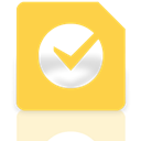 google, task, Mirror SandyBrown icon