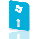 update, window, Mirror DarkTurquoise icon