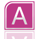Alt, Mirror, Access MediumVioletRed icon