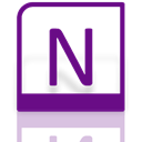 onenote, Mirror, Alt Purple icon