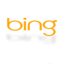 Bing, Alt, Mirror Black icon