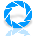 Mirror, Aperture DodgerBlue icon