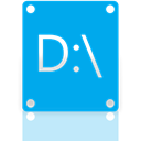 Mirror DeepSkyBlue icon