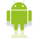 Android, Mirror, Os YellowGreen icon