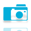 Mirror, Folder, picture DarkTurquoise icon
