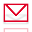 Alt, Mirror, mail Black icon