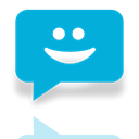 Messaging, Mirror DarkTurquoise icon