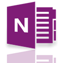 onenote, Mirror Purple icon