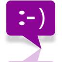 Messaging, Mirror DarkMagenta icon