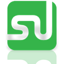 Mirror, Stumbleupon LimeGreen icon