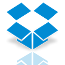 dropbox, Mirror DodgerBlue icon