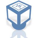 Mirror, Virtualbox SteelBlue icon