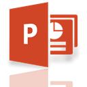 Mirror, powerpoint Chocolate icon