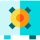 Money, security, Business And Finance, Tools And Utensils, Bank, Business, Safebox DarkTurquoise icon