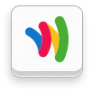 wallet, google, six, revision Snow icon