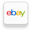 Ebay, revision, six Snow icon