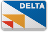Delta, pepsized Teal icon