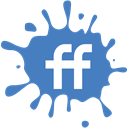set, Social, blot, Fiendfeed, media SteelBlue icon