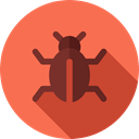 malware, Computer, virus, Flaw, Animals, failure, Error, bug Tomato icon