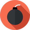 miscellaneous, Terrorism, explosive, weapons, Detonation, Bomb Tomato icon