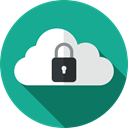 padlock, privacy, technology, Multimedia, defense, security, Computer, Cloud computing LightSeaGreen icon