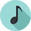 Music And Multimedia, music player, music, musical note Icon