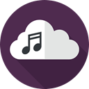 Cloud computing, interface, music, Multimedia, storage, Music And Multimedia, Data, Multimedia Option Icon