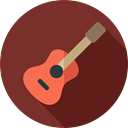 String Instrument, Acoustic Guitar, musical instrument, guitar, Music And Multimedia, music, Orchestra SaddleBrown icon