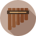 Music Instrument, Flute, music, Wind Instrument, Music And Multimedia Tan icon