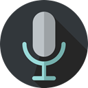 Voice Recording, technology, radio, vintage, Microphone, sound, electronics DarkSlateGray icon