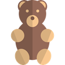 puppet, Animals, teddy bear, children, bear, Fluffy, miscellaneous, Animal, childhood DimGray icon