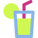 soda, Lemonade, glass, Soft Drink, Food And Restaurant, food, drink GreenYellow icon