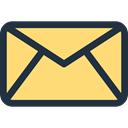 mail, envelope, Message, Communications, Note, Email Khaki icon