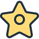 signs, Favorite, star, rate, shapes, Shapes And Symbols, Favourite Khaki icon