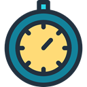 Chronometer, time, timer, Wait, stopwatch, interface, Tools And Utensils, miscellaneous DarkSlateGray icon