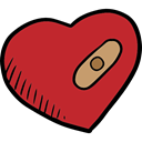 romantic, love, Romanticism, Heart, Burning, lovely, Valentines Day Firebrick icon