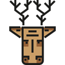 deer, mammal, wildlife, zoo, Animals, Animal Kingdom Black icon