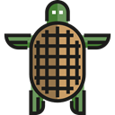 wildlife, zoo, reptile, Animals, Animal Kingdom, turtle Black icon