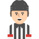 Social, Avatar, Sports And Competition, user, referee, profile DarkSlateGray icon