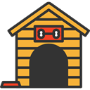 Doghouse, kennel, Dog House, Furniture And Household DarkSlateGray icon
