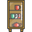 Furniture And Household, Drawers, Home, Cupboard, furniture Icon