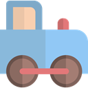 train, trains, Kid And Baby, Toy, Baby Toy, children, Locomotive, transport, toys, Railroad SkyBlue icon