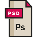 Psd File, Design, document, Psd, Multimedia, Archive, Edit Tools, image LightGray icon