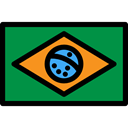 brazil, flags, flag, Nation, Country ForestGreen icon