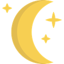 Moon Phases, nature, Astronomy, weather, Half Moon, meteorology, Moon Phase, Moon SandyBrown icon