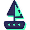 sail, Sailboat, Boats, transportation, transport, Boat, sailing Black icon