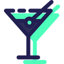 party, Alcohol, Food And Restaurant, Alcoholic Drinks, drinking, straw, leisure, food, cocktail Black icon