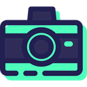 technology, picture, photo camera, digital, photograph, interface, electronics MidnightBlue icon