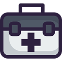 doctor, medical, Health Care, hospital, first aid kit, Healthcare And Medical DarkSlateGray icon